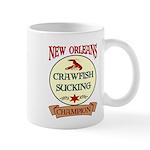 Crawfish Eating Champ Mug