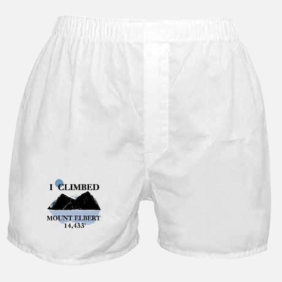 I Climbed Mount Elbert Boxer Shorts
