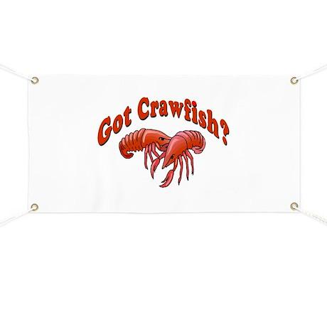 Got Crawfish Banner