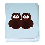 Unsure Owls baby blanket