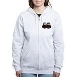 Unsure Owls Women's Zip Hoodie