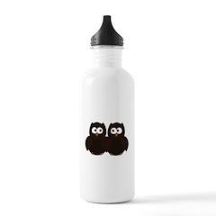 Unsure Owls Water Bottle