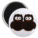 Unsure Owls Magnet