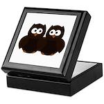 Unsure Owls Keepsake Box