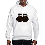 Unsure Owls Hooded Sweatshirt