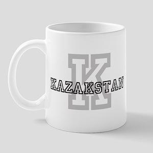 Letter K: Kazakstan Mug