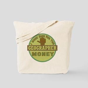 Geographer Tote Bag