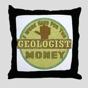 Geologist Throw Pillow