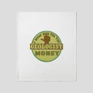 Geologist Throw Blanket