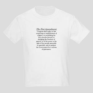 First Amendment Kids Light T-Shirt