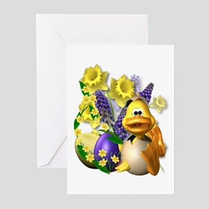 Daffy About Daffodils! Greeting Cards (Package of