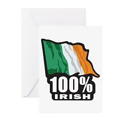 100% IRISH Greeting Cards (Pk of 10)