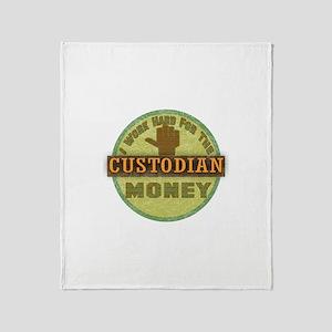 Custodian Throw Blanket