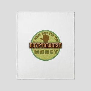 Egyptologist Throw Blanket
