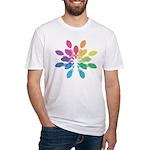 Lights Design Fitted T-Shirt