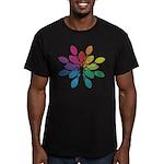 Lights Design Men's Fitted T-Shirt (dark)