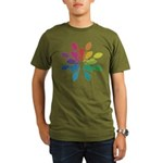 Lights Design Organic Men's T-Shirt (dark)