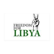 Freedom for Libya 38.5 x 24.5 Wall Peel