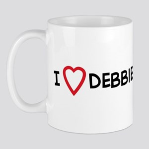 I Love Debbie Stabenow Mug
