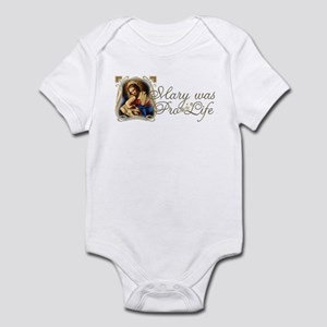 Mary was Pro-Life Infant Bodysuit
