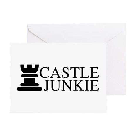 Castle Junkie Greeting Card