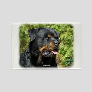 Rottweiler 9R047D-052 Rectangle Magnet