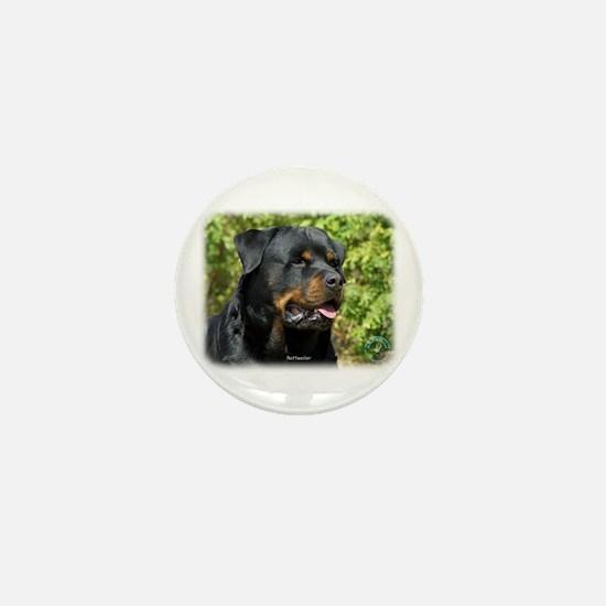 Rottweiler 9R047D-052 Mini Button (10 pack)
