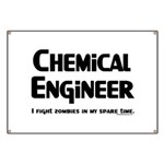 Chem Engineer Zombie Fighter Banner