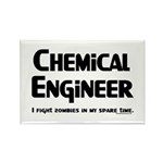 Chemical Zombie Fighter Rectangle Magnet (10 pack)