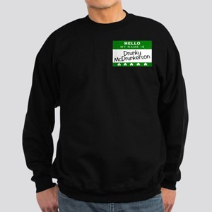 Irish Name Tag Sweatshirt (dark)