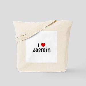 I * Jasmin Tote Bag
