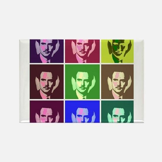 McLuhan Rectangle Magnet