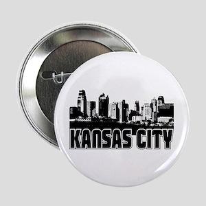"Kansas City Skyline 2.25"" Button"