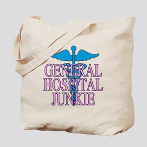 General Hospital Junkie Tote Bag