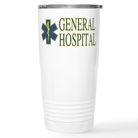 General Hosptial Stainless Steel Travel Mug