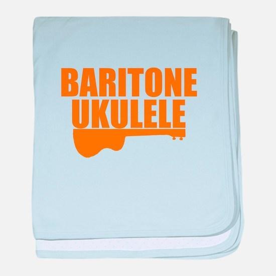 baritone ukulele baby blanket