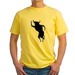 Bull Yellow T-Shirt