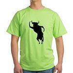 Bull Green T-Shirt