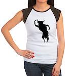 Bull Women's Cap Sleeve T-Shirt