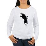 Bull Women's Long Sleeve T-Shirt