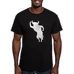 Bull Men's Fitted T-Shirt (dark)