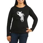 Bull Women's Long Sleeve Dark T-Shirt