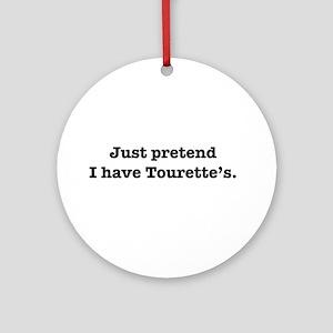 Tourette's Ornament (Round)