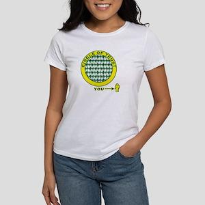 "SharpTee's ""Circle of Trust"" Women's T-Shirt"