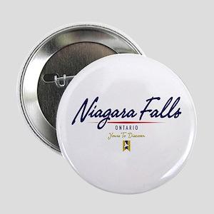 """Niagara Falls Script 2.25"""" Button"""
