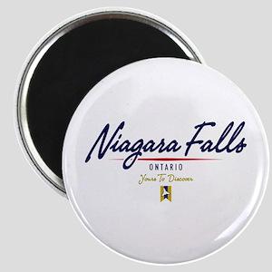Niagara Falls Script Magnet