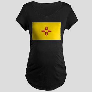 Flag of New Mexico Maternity Dark T-Shirt