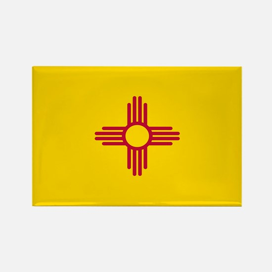 Flag of New Mexico Rectangle Magnet