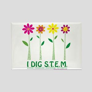I DIG S.T.E.M.! Rectangle Magnet