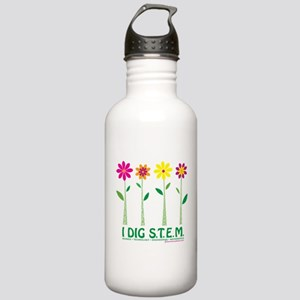 I DIG S.T.E.M.! Stainless Water Bottle 1.0L